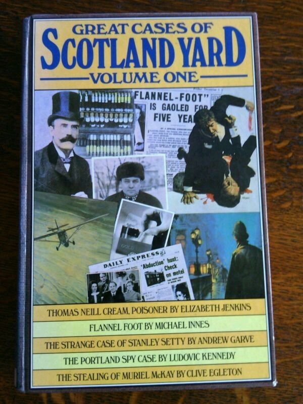 Great Cases Scotland Yard Volume One Hardcover 1st Edition illustrated 1978    | eBay