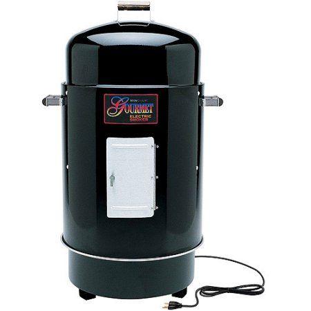 Brinkmann 810-7080-6 Gourmet Electric Smoker & Grill- Black