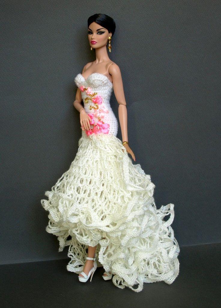 Katniss wedding dress doll patterns