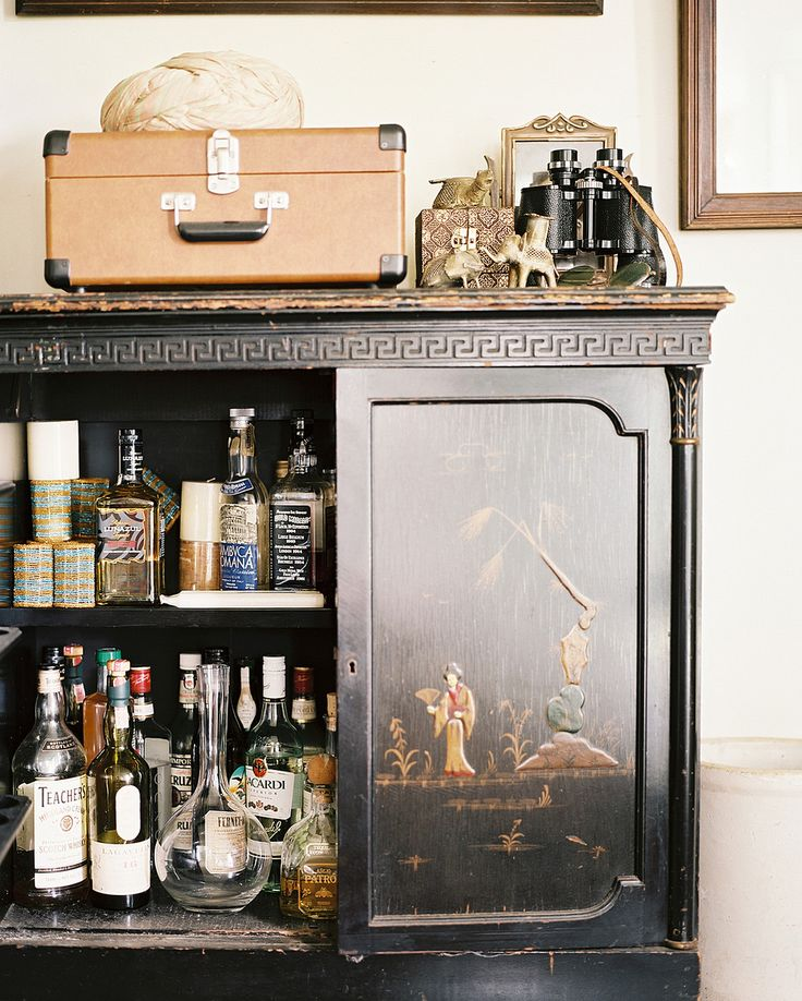 Five boozy set ups that don't require a trendy furniture purchase.