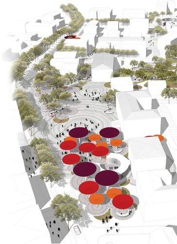 mir_architettura, Francesca Da Canal — Riqualificazione urbana centro storico-via Roma Medolla - Europaconcorsi