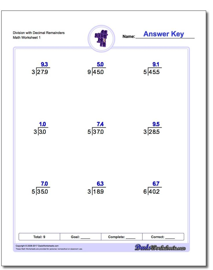 214 best Division Worksheets images on Pinterest | Division, Math ...