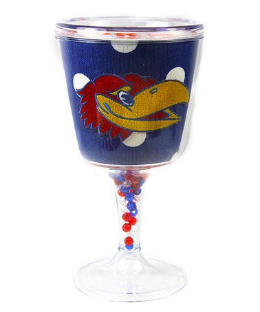 Take a look at this Kansas Acrylic Goblet by Mee Too on #zulily today!