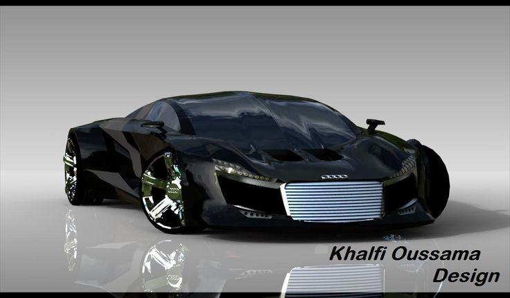 the new design of audi R10 by khalfi oussama by Khalfi Oussama at Coroflot.com