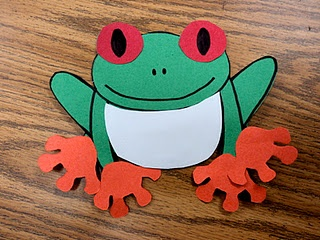 """Treasures story """"Red Eyed Tree Frog"""""""