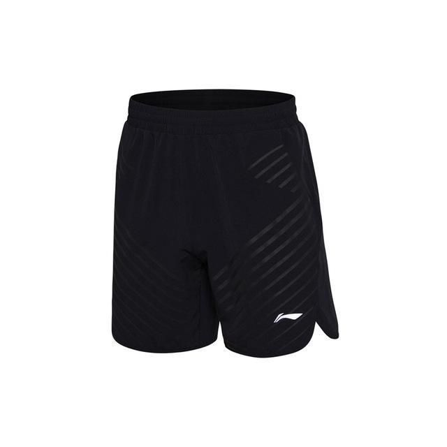 Li-Ning Men Badminton Competition Shorts Regular Fit 91.1% Polyester 8.9% Spandex LiNing