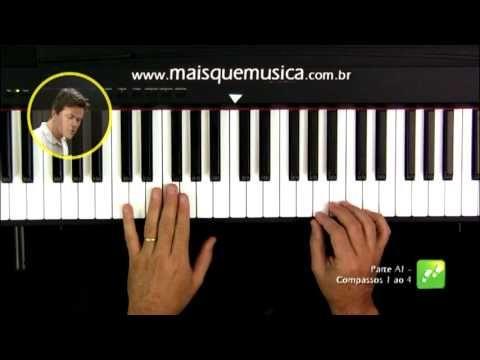 Video aula de piano do curso mais que musica, com a música Greensleeves. ...