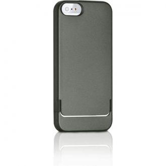 Etui typu hard cover marki Targus przeznaczony do Apple iPhone 5. Opantentowana konstrukcja pozwala na łatwe wkładanie i wyciąganie telefonu z etui.  Ochronne krawędzie sprawiają, że telefon jest bezpieczny również leżąc ekranem do dołu. Wykonane z materiału absorbującego wstrząsy, który jest przyjemny w dotyku i zapewnia pwny chwyt.  Precyzyjnie wycięte otwory zapewniają dostęp do wszystkich przycisków i bezproblemowe korzystanie z wbudowanego aparatu.  Produkt w kolorze ciemnozielonym.