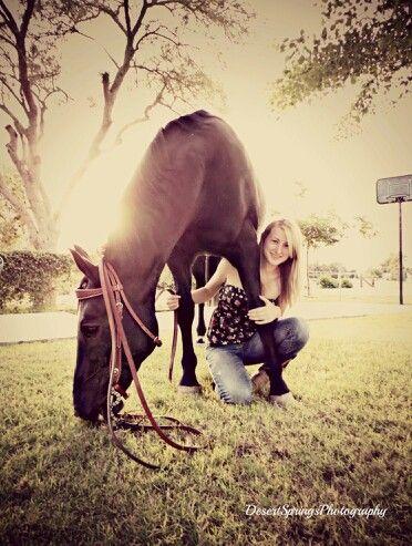 Horse & Girl Photography