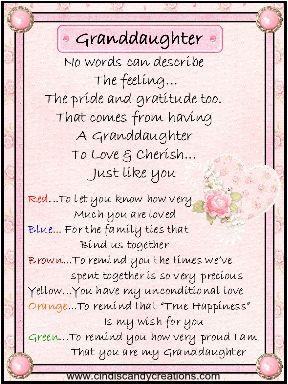 Grown Granddaughter Granddaughter Quotes Grandaughter