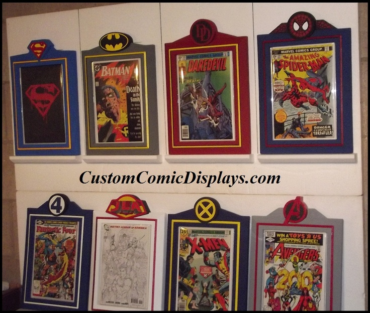looking for a comic book frame for a specific title series or publisher checkout our premier series custom comic book display