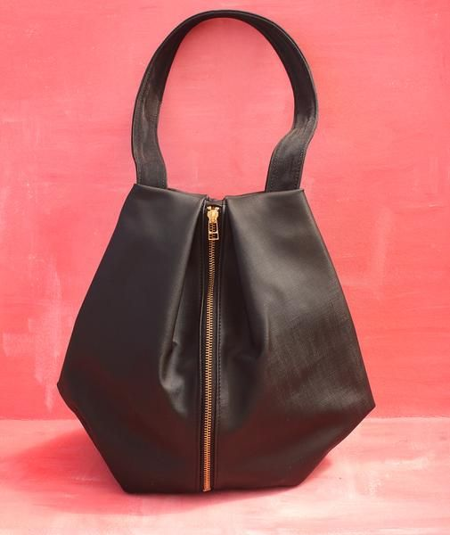 ROME tote, black tote bag with zipper for everyday use in 2018   Vegan  fashion   Pinterest   Bags, Black tote bag and Tote Bag c4f9782d9e