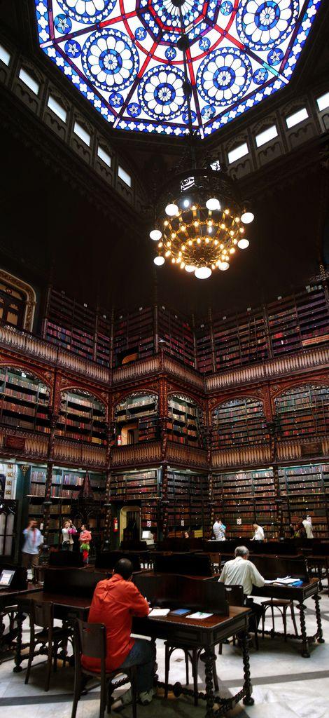 Real Gabinete Portugues de Leitura, Rio de Janeiro Brazil