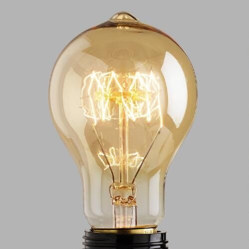 Inspired by vintage light bulbs, our Round Edison Filament Light Bulb casts  a unique glow