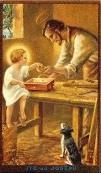 St. Joseph, Ora Pro Nobis! Ever since my husband's cancer diagnosis, I've been praying to St. Joseph for him. St. Joseph knows what it's like to be a husband and father and I want him to intercede for my husband <3