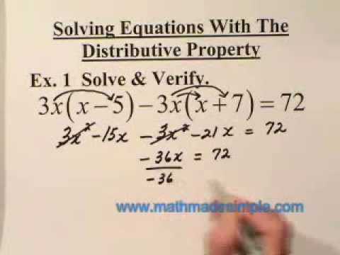 Solving Linear Equations by Math Made Simple