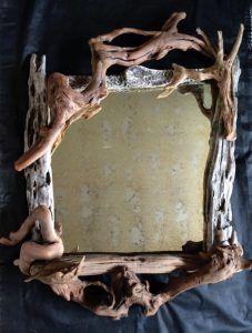 Veľký naplavené drevo zrkadlový Nigel Peterken