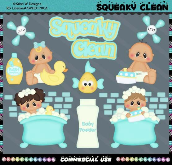 Little Chubbies Squeaky Clean Babies Baby Bath Time