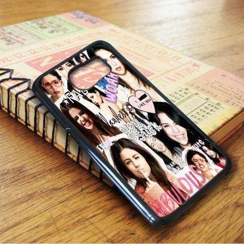 Selena Gomez Collage Idol Star Samsung Galaxy S7 Edge Case