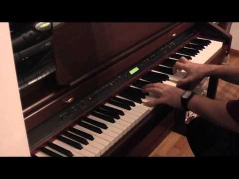 corpse bride piano theme fast version