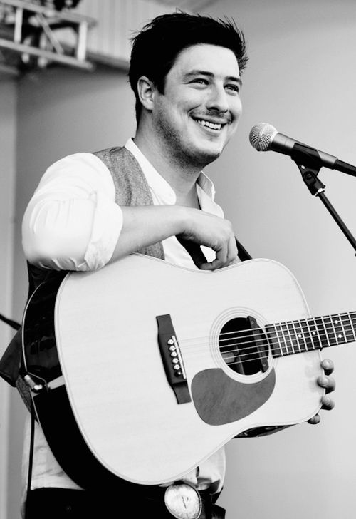 Marcus Mumford... Because when he sings, you can actually hear the emotion in his voice, and that's sexy as hell!