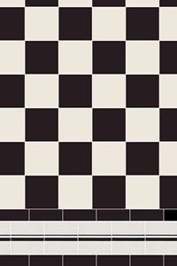 Specific breakdowns of our patterns showing the number of tiles required per square metre, from the simple checkerboard to the most complex design made up from many different shapes and colours.