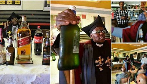 """BEERbaptism"" South African Church Where People Are Baptized Using Their Favorite Beer"