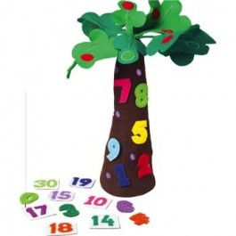 """Tree+&+Number+Props+for+""""Chicka+Chicka+123"""" +-+$37.99"""