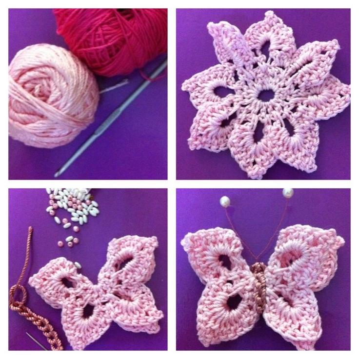 Free Crochet Pattern For Butterfly Wings : 17 Best images about Butterflies on Pinterest Free ...
