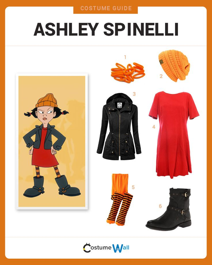 Dress Like Ashley Spinelli from Recess. See additional costumes and Ashley Spinelli cosplays.