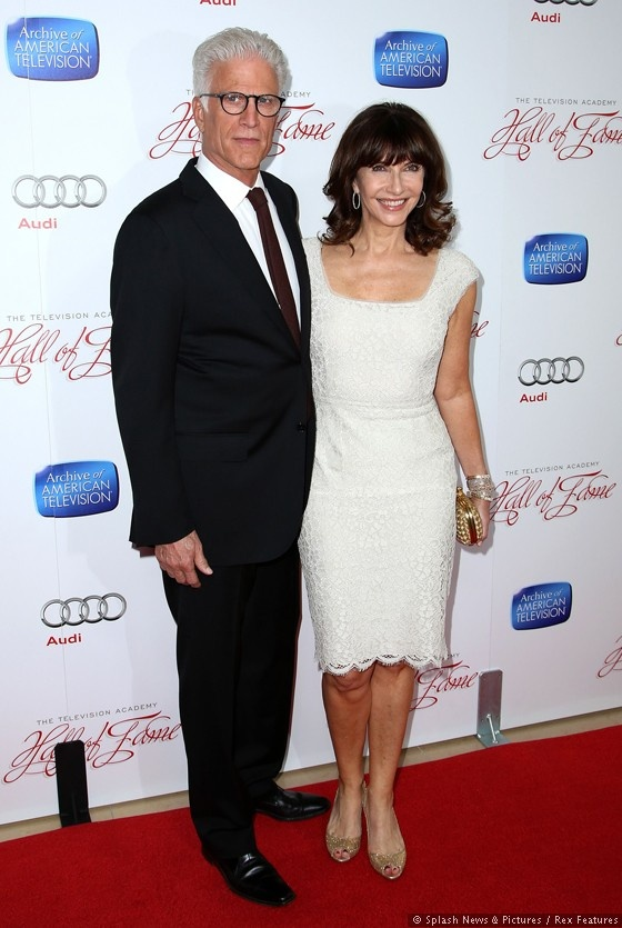 Ted Danson with wife Mary Steenberger