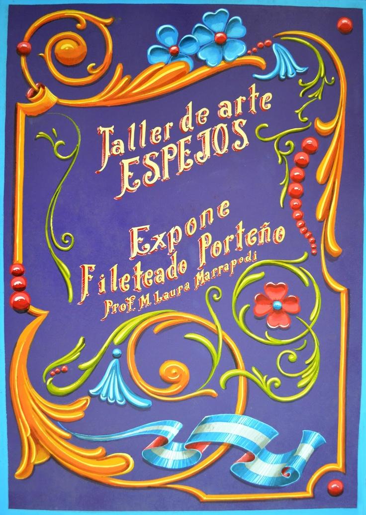 Fileteado Porteño