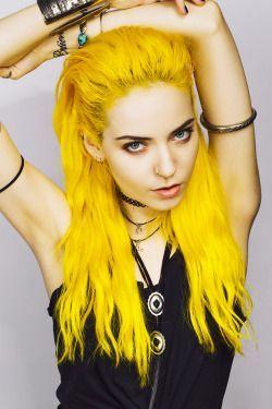 Yellow Hair Dye https://www.etsy.com/listing/281121510/new-color-yellow-hair-dye Lunar Tides Hair