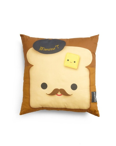 Fare and Square Pillow in French Toast / ModCloth {cuteness!}