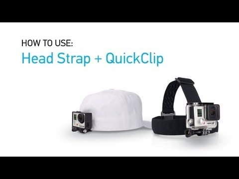 GoPro HERO3+: Introducing the Head Strap + QuickClip