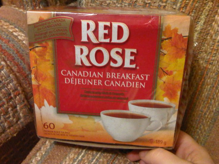 "Red Rose Tea ""Canadian Breakfast"""