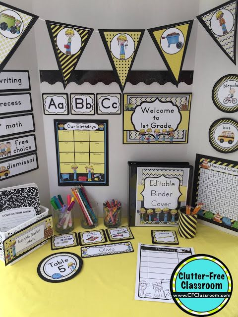 Classroom Decor On A Budget : Best images about construction classroom theme on