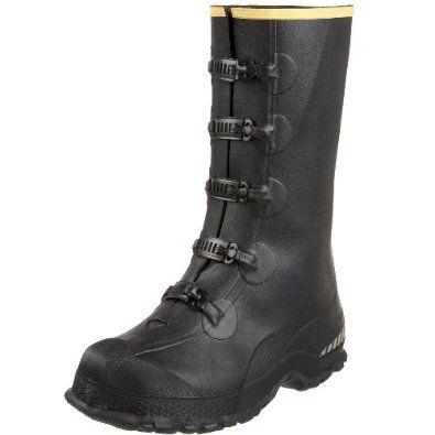 """LaCrosse Men's 14"""" 5-Buckle Premium Deep Heel Overshoe,Black,9 M US LaCrosse. $24.65"""