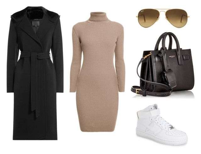 """""""Everyday Fit"""" by amuramasri on Polyvore featuring mode, Rumour London, Alexander Wang, NIKE, Ray-Ban en Yves Saint Laurent"""