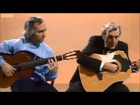 Eric Sykes CBE - Very Funny Guitar Sketch Feat. John Williams - YouTube