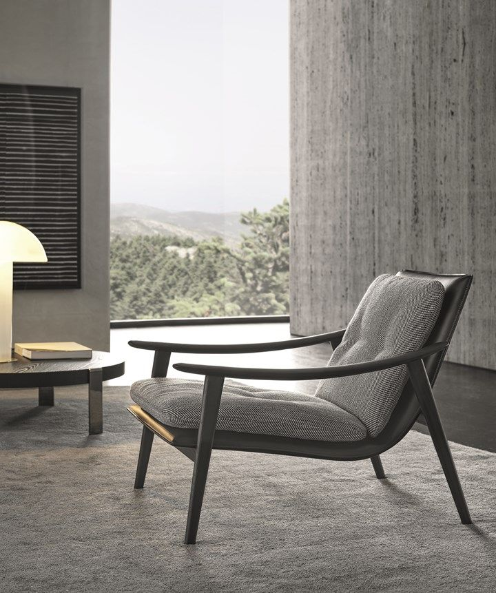 Minotti Presents The 2020 Indoor Outdoor Collection In 2020 Minotti Armchair Furniture Furniture