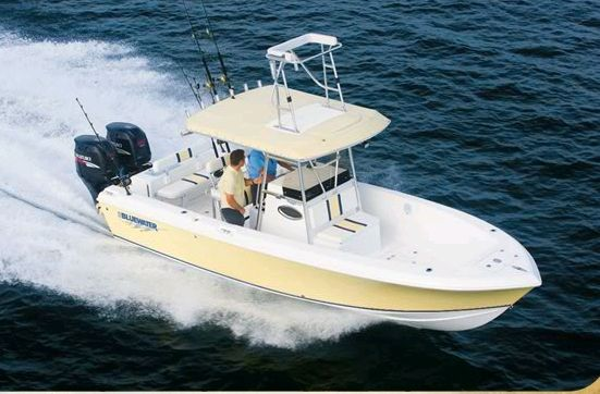2012 Bluewater Boats 2350 Center Console Boat