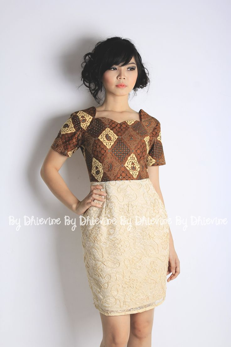 Hima Ayu Dress   Batik Dress   Dress Kebaya    DhieVine   Redefine You