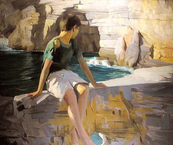 Virgilio Constantini, The Rock 1920