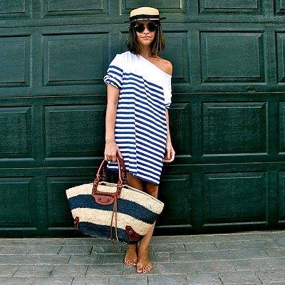 """Modnaya.ru: Морской стиль в одежде, на примере дресс-кода вечеринки от """"Виконт Медиа"""""""
