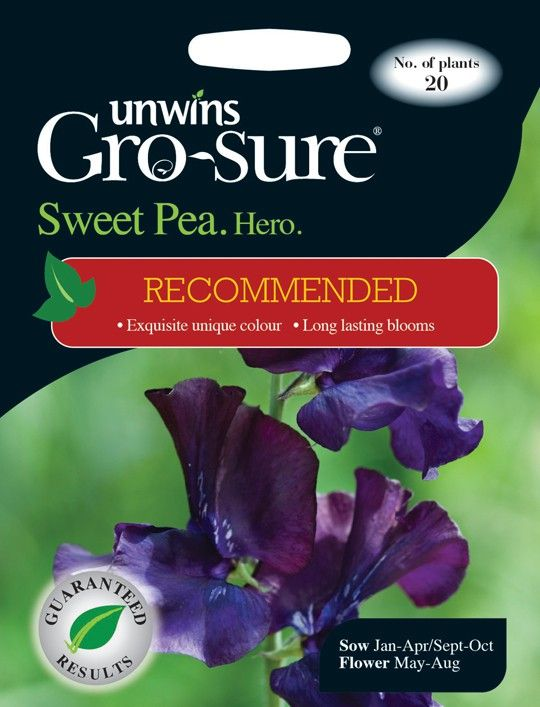 Unwins seeds sweet peas recipes