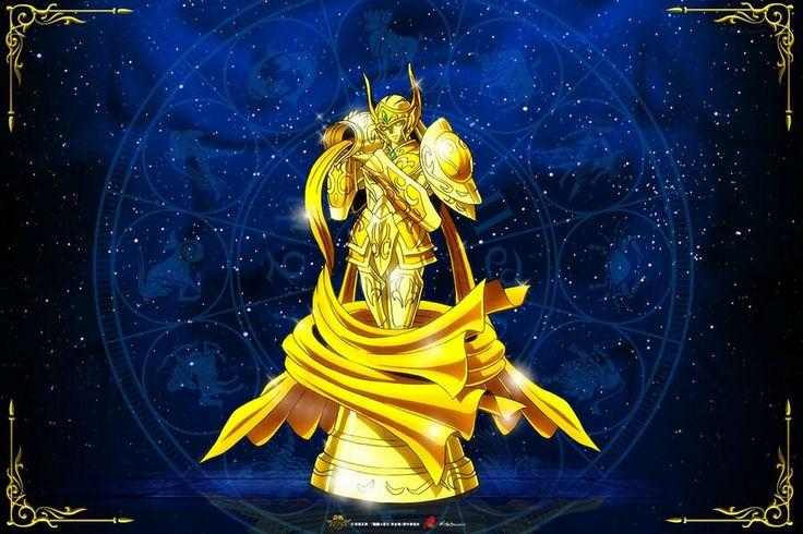 Acuario Kamui Divina Saint Seiya Soul of Gold