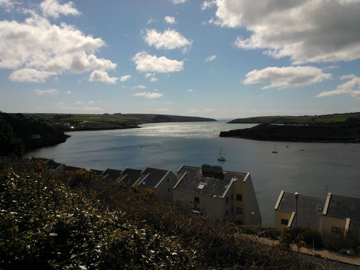 Looking out from Kinsale Harbour towards the Celtic Sea.