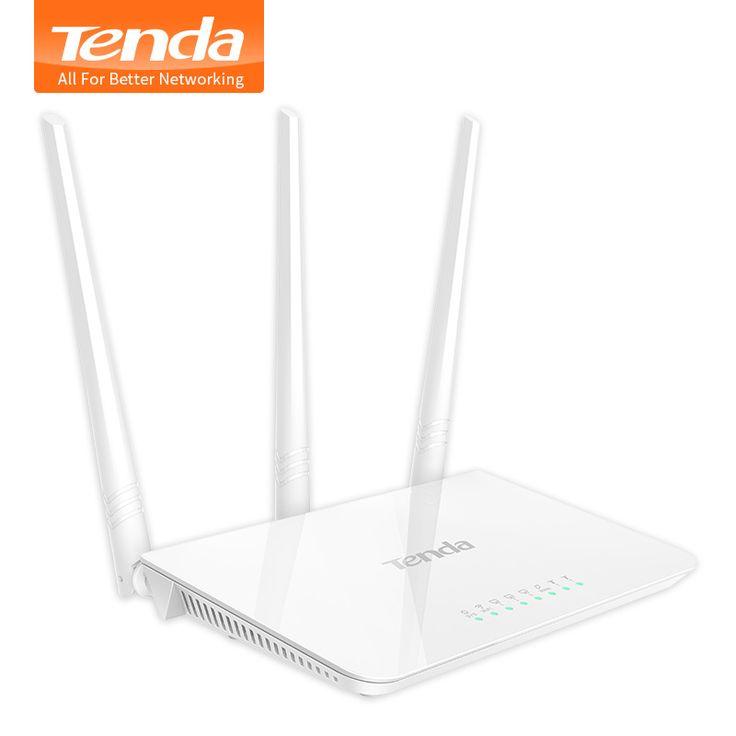 F3 300 Mbps Wireless Router Wi-fi e Wi-Fi Repetidor Tenda, vários Firmware Língua, fácil Instalação, perfeito para Pequenas e Médias Casa