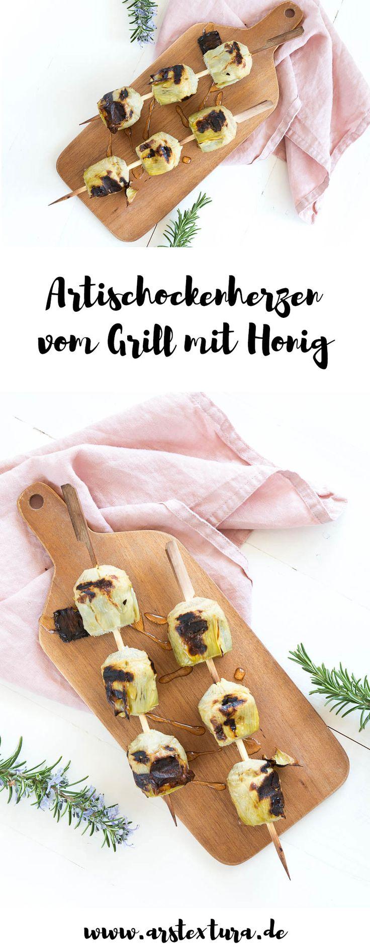 Artischocken Rezepte: Artischockenherzen vom Grill mit Honig - Die perfekte Grillparty